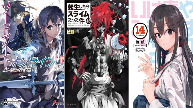 I 10 Volumi E Le 10 Serie Novel Più Vendute Nella Prima Metà Del 2020