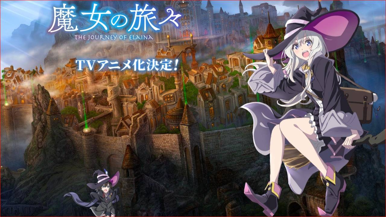 Annunciato L'Anime Della Novel 'Wandering Witch – The Journey of Elaina'