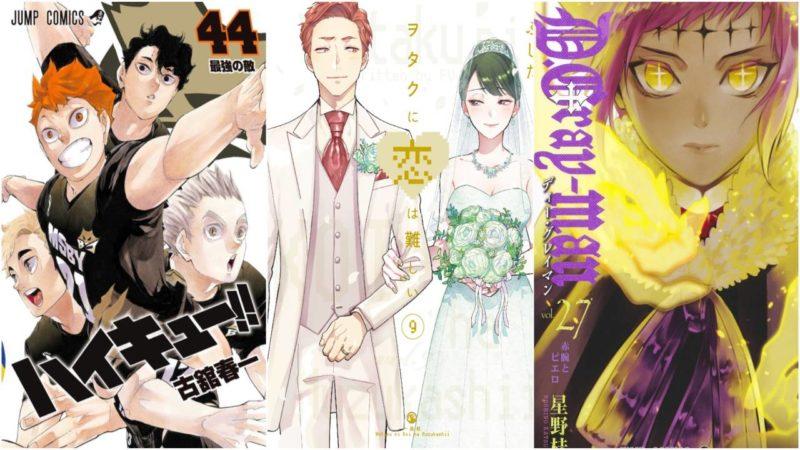 I 20 Manga Più Venduti Dal 3 Al 9 Agosto 2020