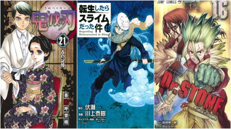 I 20 Manga Più Venduti Dal 6 Al 12 Luglio 2020