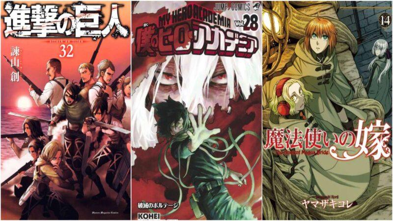 I 20 Manga Più Venduti Dal 7 al 13 Settembre