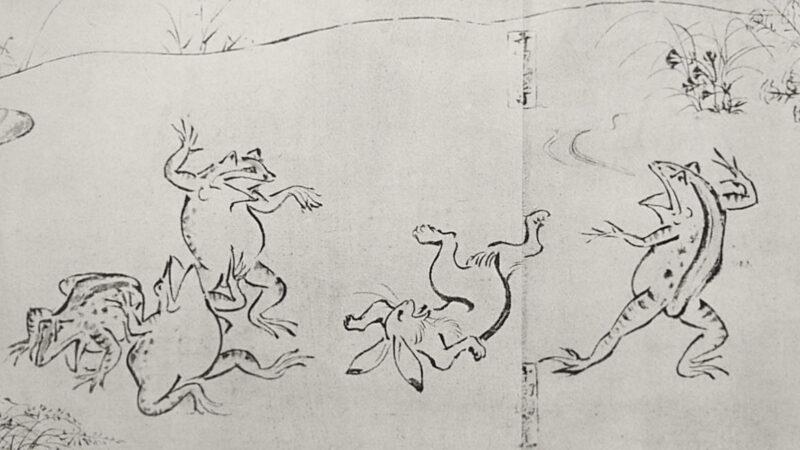 Tra manga e arte: dall'Emakimono all'Ukiyo-e.
