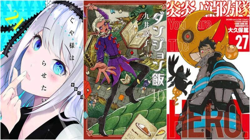 I 20 Manga Più Venduti Dal 15 al 21 Febbraio