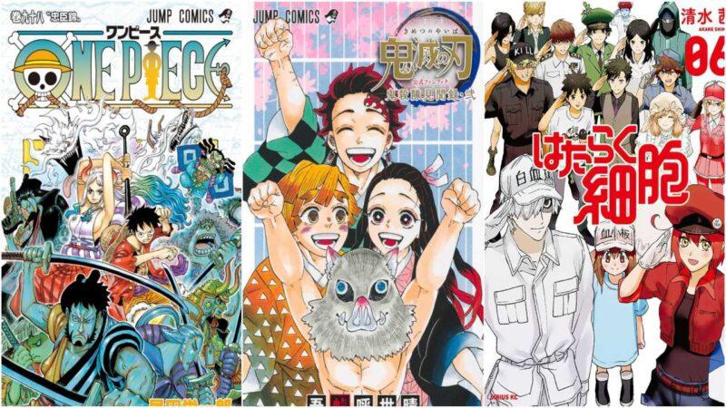 I 20 Manga Più Venduti Dall'8 al 14 Febbraio
