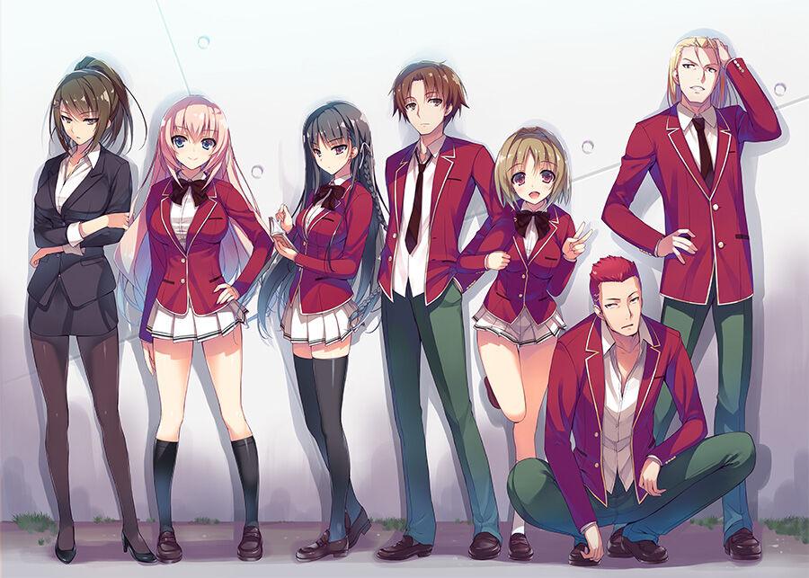 Differenze anime/light novel Classroom of the Elite