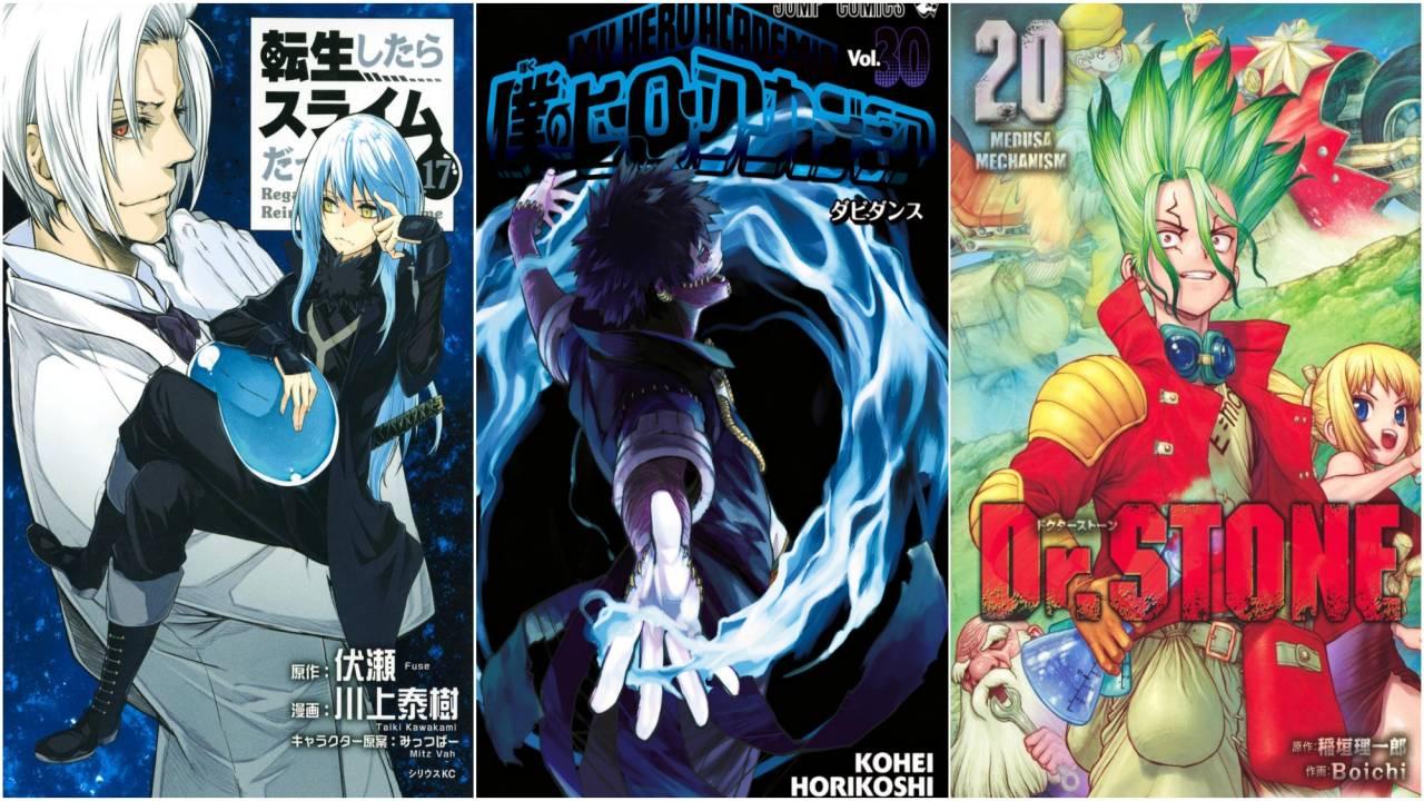 I 20 Manga Più Venduti Dal 29 Marzo al 4 Aprile 2021